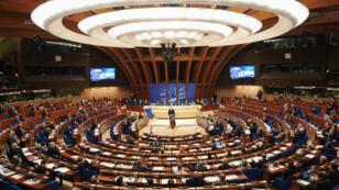 L'Assemblée plénière du Conseil de l'Europe, le 26janvier2011.