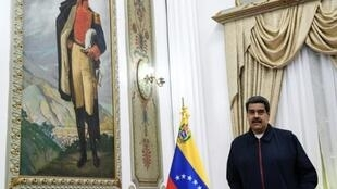 Representatives of Venezuelan President Nicolas Maduro, pictured July 9, 2019, and opposition leader Juan Guaido have arrived in Barbados to continue talks to resolve the country's political crisis
