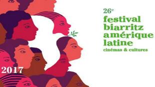 Afiche del Festival de Cinema de Biarritz