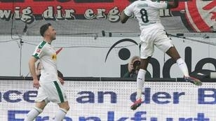 Zakaria equalised but Gladbach had to settle for a point in Frankfurt