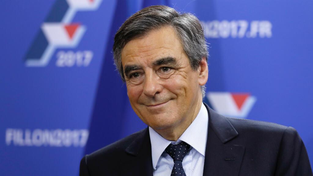 François Fillon, dimanche 20 novembre 2016, au moment de son discours à son QG de campagne.