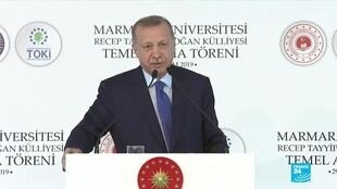 2019-11-29 20:13 Turkey's Erdogan says France's Macron 'in state of brain death' over NATO comments