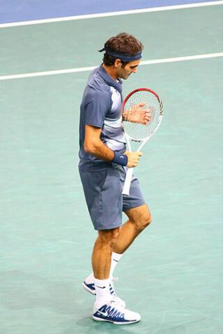 Roger Federer déçu après sa défaite en demi-finale