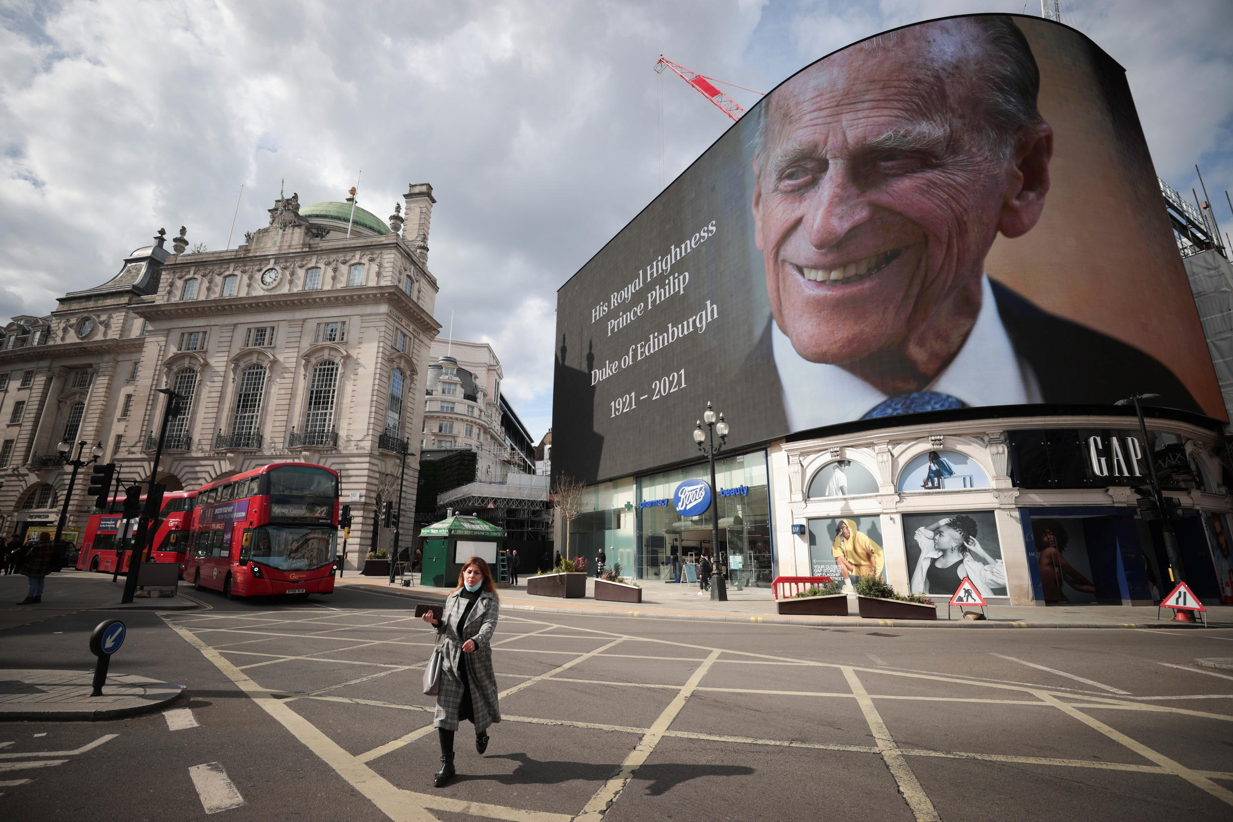 PRINCE PHILIP FUNERAL ANNOUNCEMENT