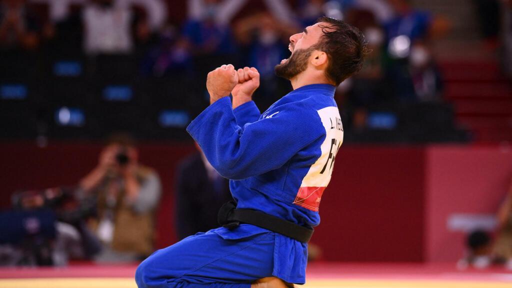 Tokyo 2021 : une morne journée pour les Français, sauvée par le bronze du judoka Luka Mkheidze