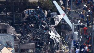 L'appareil s'est écrasé peu après son décollage de l'aéroport de Chofu.
