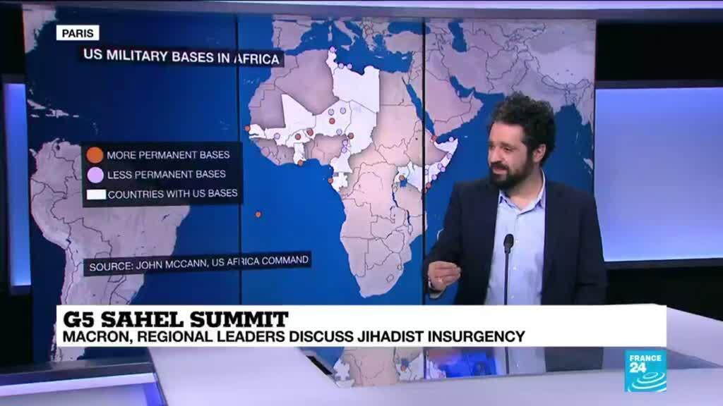 2021-02-15 14:04 G5 Sahel summit: Macron is considering a Sahel troop reduction