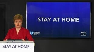 Scotland's First Minister Nicola Sturgeon is sending out a different message to Boris Johnson's 'Stay Alert'