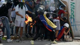 Les violences au Venezuela ont débuté en avril dernier.