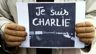 The 2015 attack on the Charlie Hebdo offices led to an international wave of support.