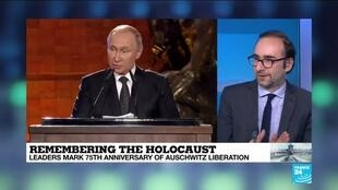 2020-01-23 14:38 Remembering the Holocaust: What to make of the world leaders' addresses?