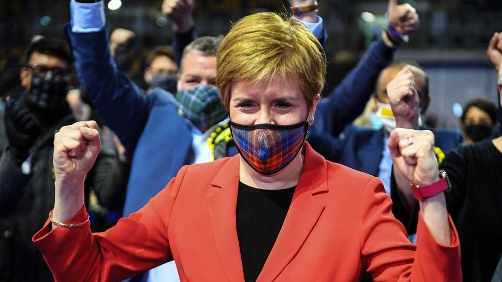 Pro-independence parties win majority in Scottish parliament, setting up fight over future of UK