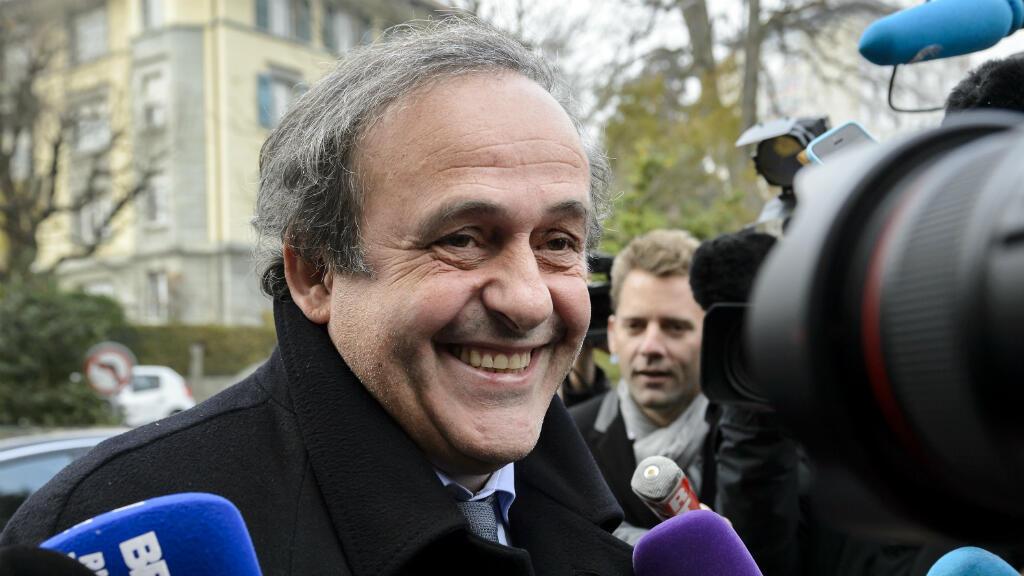 Michel Platini lors de son arrivée au Tribunal arbitral du sport de Lausanne, le 8 décembre 2015.