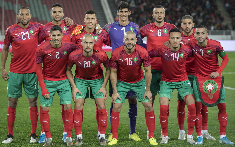 تأهل المنتخب المغربي الى نهائيات كأس أمم أفريقيا 2021 التي تستضيفها الكاميرون مطلع العام المقبل