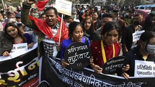 The prime minister's decision to dissolve parliament had led to protests by members of a faction of his own ruling Nepal Communist Party