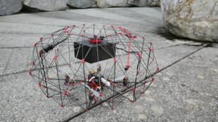 Prototipo del dron desarrollado por la EPFL