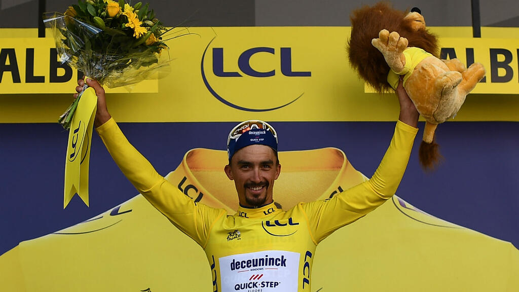 Julian Alaphilippe, France's humble heir to the cycling throne
