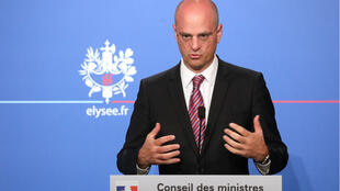Le ministre de l'Éducation Jean-Michel Blanquer a présenté le service national universel le 27 juin à l'Élysée.