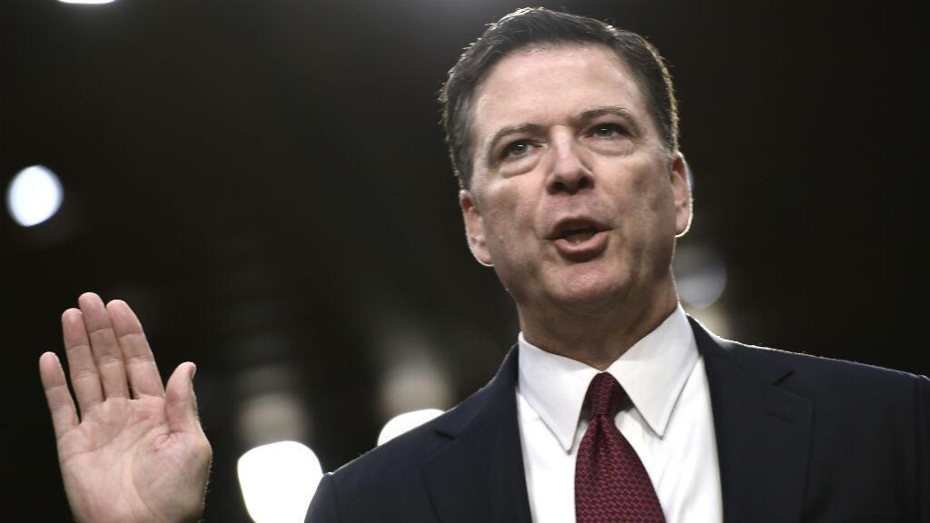 L'ex-patron du FBI, James Comey, publie ses mémoires, un livre à charge contre Donald Trump.