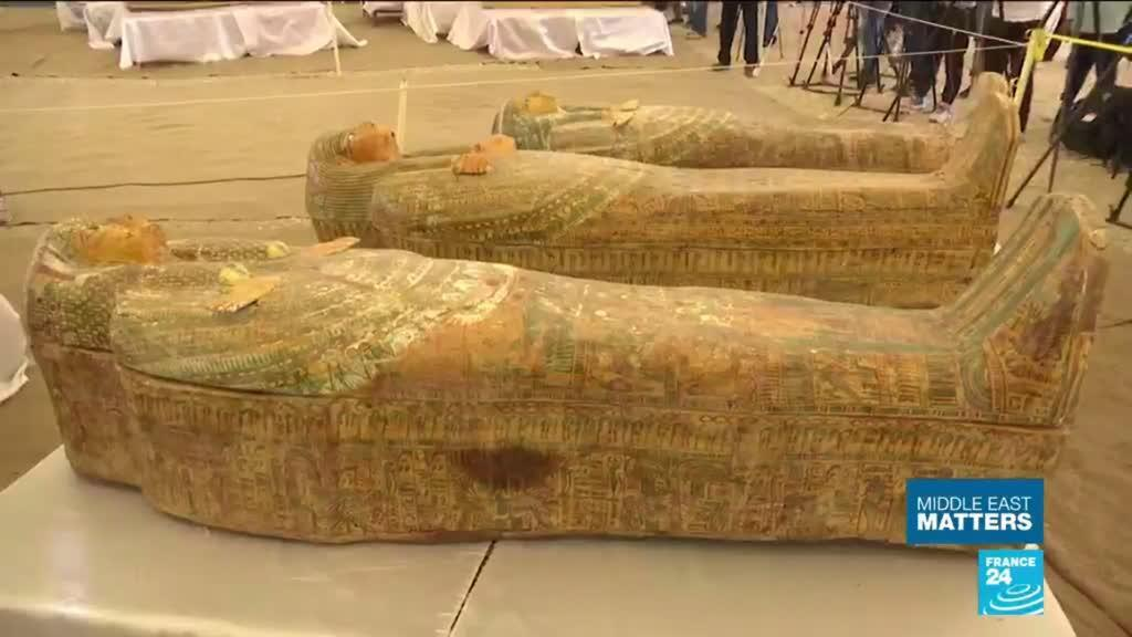 2019-10-23 16:26 Back from the dead: 30 ancient Egyptian coffins with mummies found in Luxor