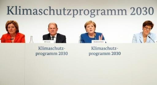 Key points of Merkel's new climate strategy
