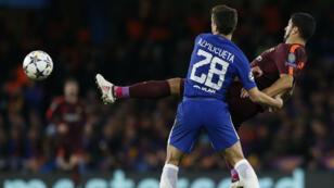 Chelsea et le FC Barcelone n'ont pas réussi à se départager, le 20 février.