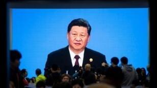 الرئيس الصيني شي جينبينغ بشنغهاي في 5 تشرين الثاني/نوفمبر 2018.