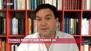 L'économiste Thomas Piketty le 28 avril 2020.