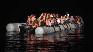 L'essentiel des migrants arrivés en Italie en 2016 sont passés par la mer Méditerranée.