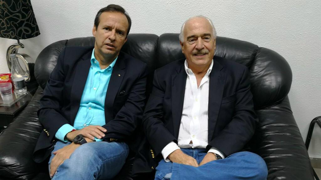 Los expresidentes Andrés Pastrana (Colombia) y Jorge Quiroga (Bolivia) viajaron a Cuba para recibir un premio por su lucha en pro de la democracia