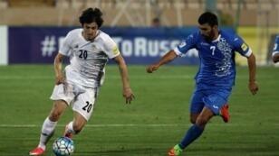 الإيراني سردار أزمون في تصفيات مونديال 2018 الاثنين 12 حزيران/يونيو 2017