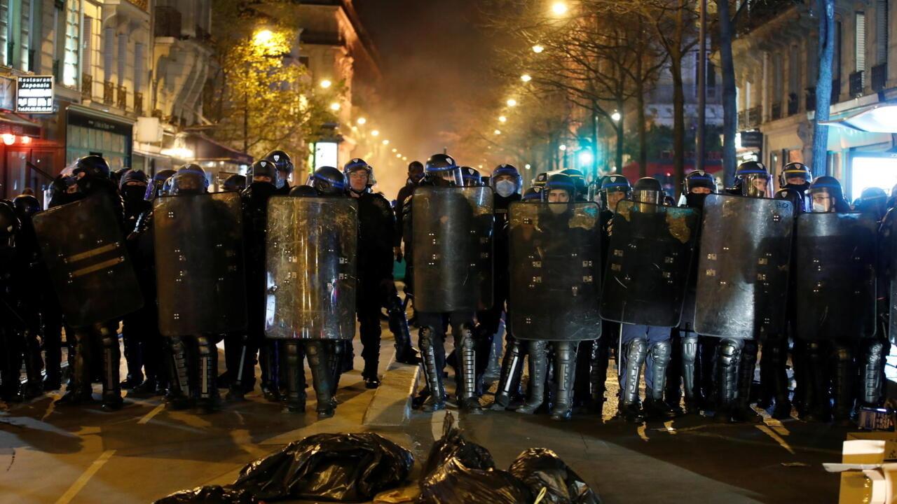 Paris police officers suspended over brutal beating of Black man