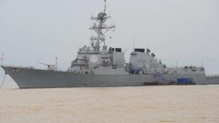 L'USS Lassen photographié en 2003.