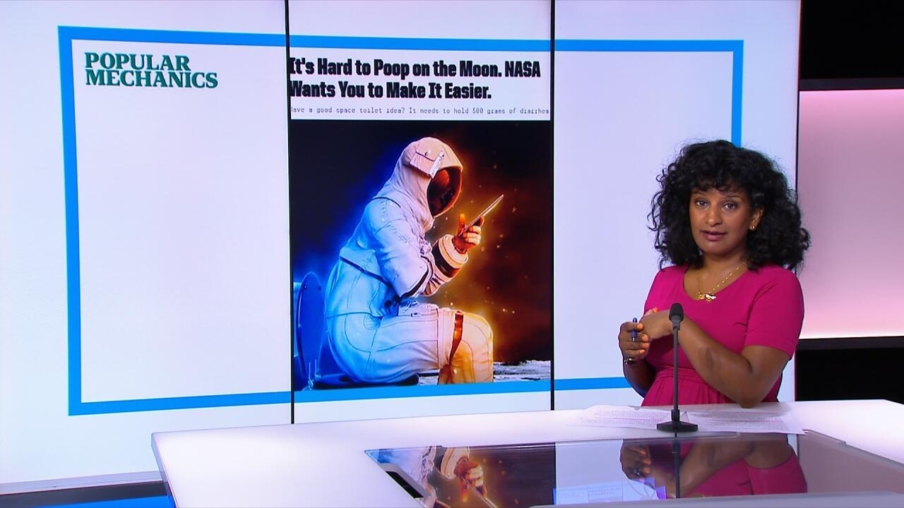 In the press - Lunar Loo challenge: NASA's search for next space toilet engineer - FRANCE 24