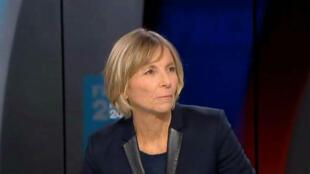 Marielle de Sarnez, invitée de Mardi politique sur France 24, le 18 avril 2017.