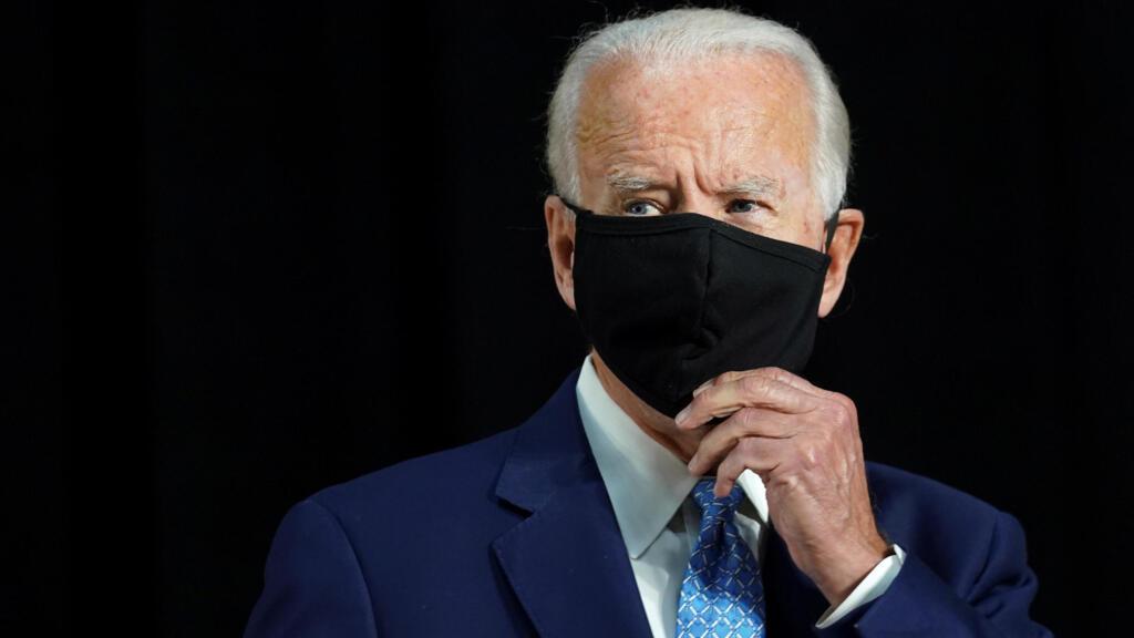 Covid-19 aux États-Unis : pas de meeting de campagne pour le candidat démocrate Joe Biden