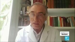 2020-04-03 11:01 Coronavirus : En Espagne, l'état de santé du personnel soignant inquiète