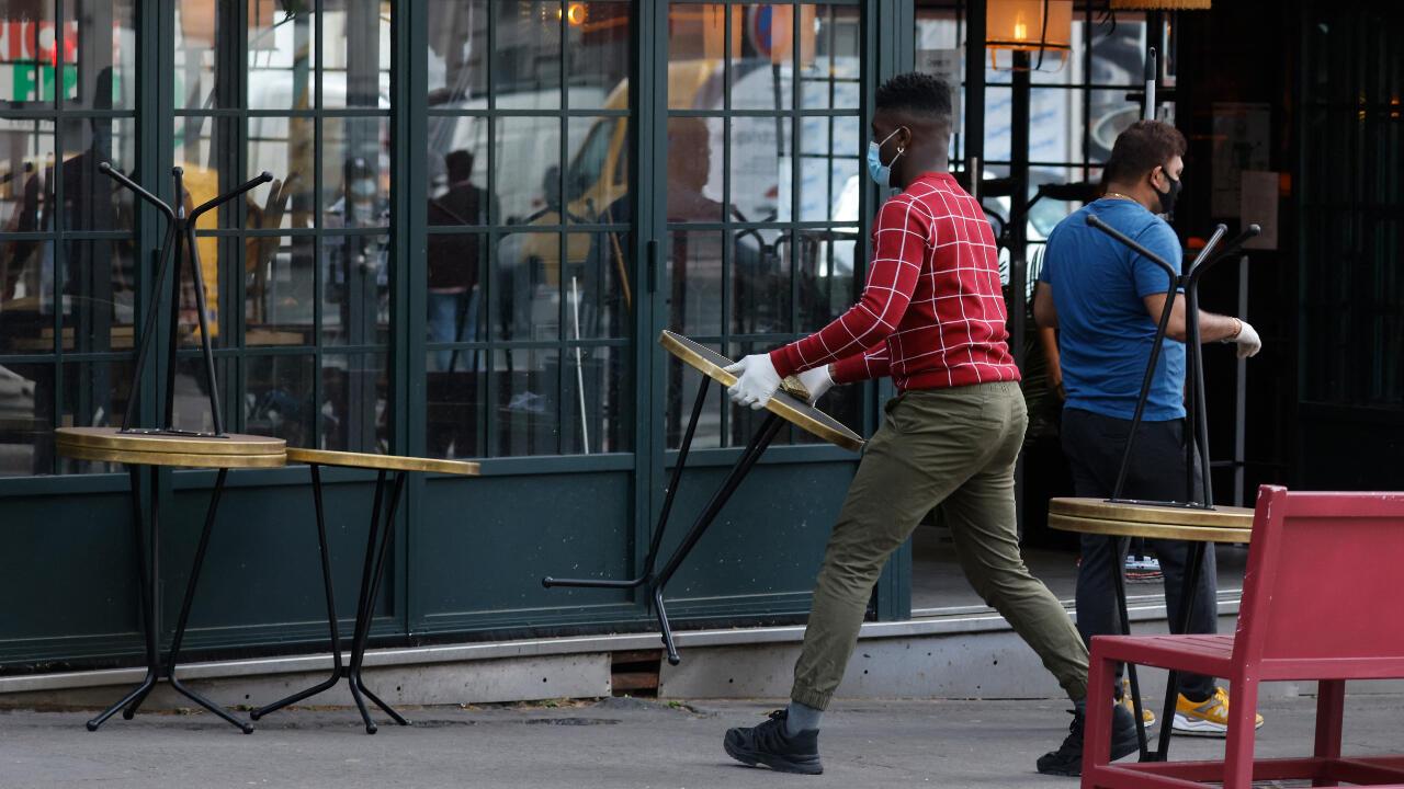 #Covid19Hoy: Francia confirma reapertura de los restaurantes al aire libre para el 19 de mayo