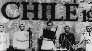 Augusto Pinochet, presidente de Chile entre 1974 y 1990.