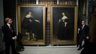 Les deux portraits de Rembrandt ont été acquis conjointement par la France et les Pays-Bas en septembre 2015.