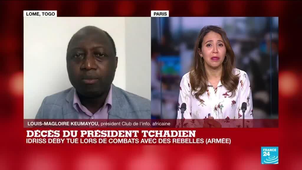 2021-04-20 17:05 Décès du président tchadien
