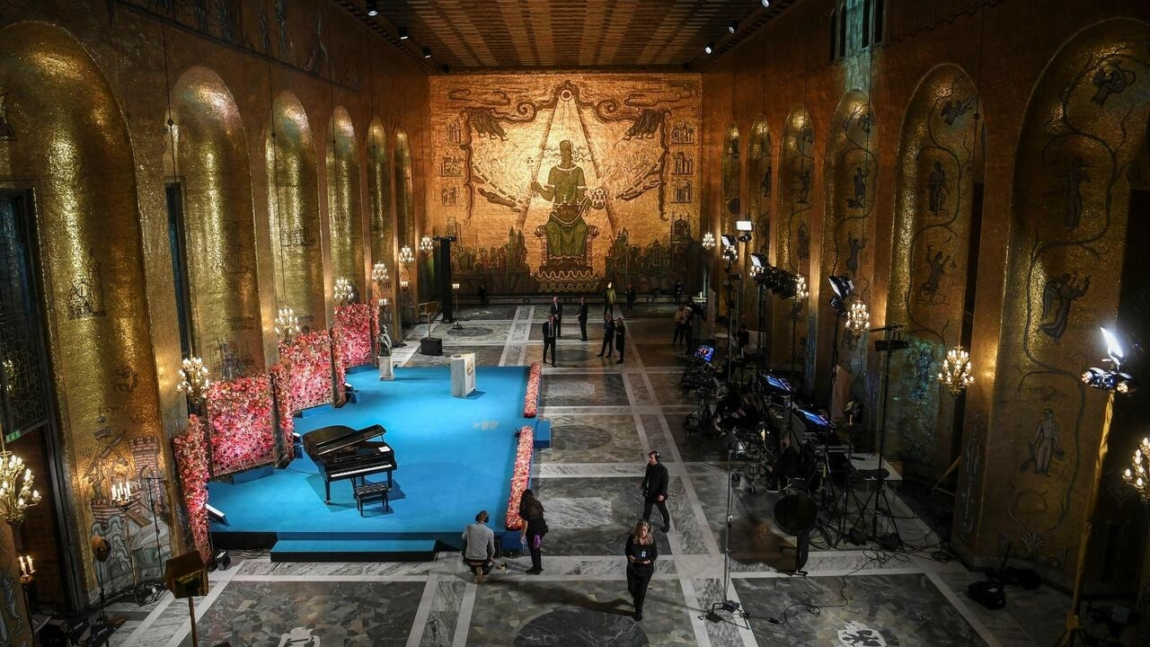 Image Nobel ceremonies marred by pandemic for second year