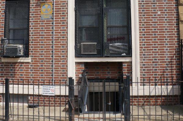 Durant la Guerre froide, les habitants de Brooklyn pouvaient s'abriter dans ce sous-sol d'immeuble en cas de radiations nucléaires.