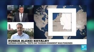 2020-08-24 17:31 Navalny was poisoned, German doctors confirm