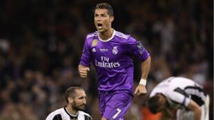 رونالدو سجل هدفين في فوز ريال مدريد على يوفنتوس في نهائي دوري الأبطال 2017/06/03