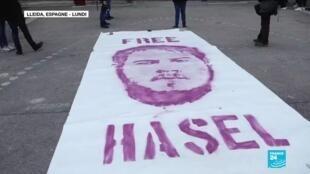 2021-02-16 16:07 Liberté d'expression en Espagne : le rappeur Pablo Hasél arrêté pour injure à la monarchie