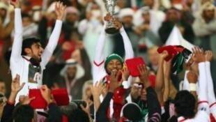 منتخب الإمارات، حامل اللقب.