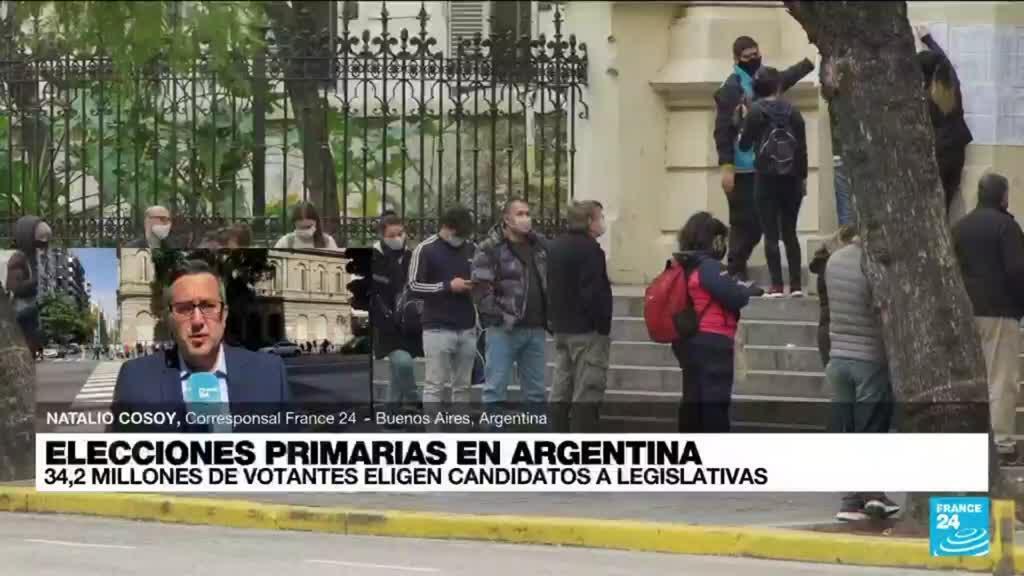2021-09-12 19:02 Informe desde Buenos Aires: así avanzan las elecciones primarias en Argentina