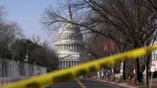 Capitolio vallado