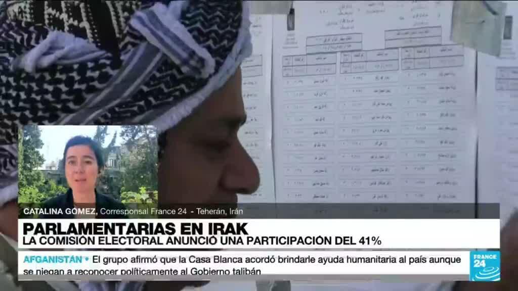 2021-10-11 14:37 Informe desde Teherán: razones por las que muchos jóvenes iraquíes no fueron a las urnas